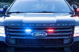 Ford Police Interceptor Utility Gets New Rear Spoiler