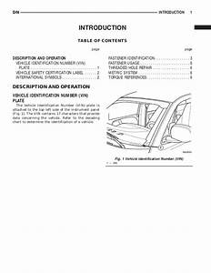 2000 Dodge Durango Service Repair Manual