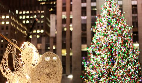 Christmas Tree  New York Sightseeing