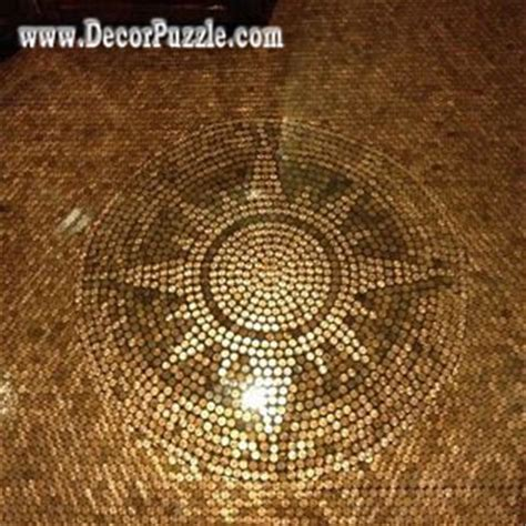 Tile For Bathroom Walls And Floor by Top Tips To Install Penny Floor And Copper Penny Tile Floor