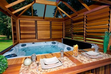 Large lodges with hot tubs yorkshire, large log cabins with hot tubs uk, moving a large hot tub, outdoor hot tub accommodation victoria, outdoor hot tub design ideas, outdoor hot tub diy. Hot Tub Enclosures, Hot Tubs Gazebo for an Island Escape Spa or Balboa hot tub
