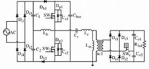 Circuit Diagram Of Proposed Single Dc Converter With Pfc And