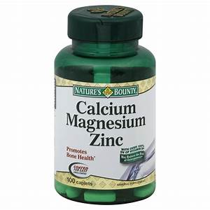 Nature Made Calcium Magnesium Zinc  With Vitamin D  Tablets  Value Size  300 Tablets