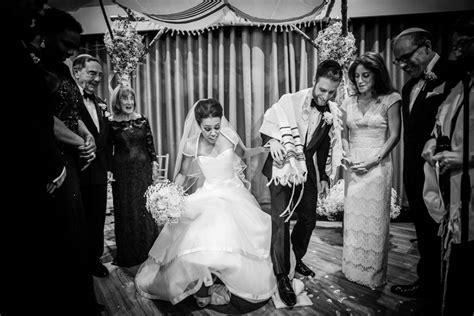 black tie meets rustic masorti jewish wedding  manor