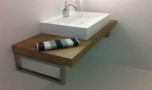 Waschbecken Mit Holzplatte : waschtisch selber bauen ausf hrliche anleitung und ~ Michelbontemps.com Haus und Dekorationen