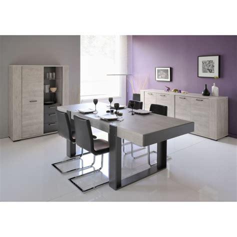 meuble haut cuisine porte coulissante loft salle à manger complète décor gris 3 pièces 1 table à