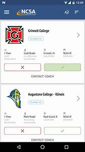 NCSA Athletic Recruiting - Android Apps on Google Play