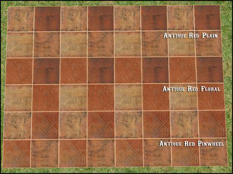 Mod The Sims  The Tile Shoppe Saltillo Tiles