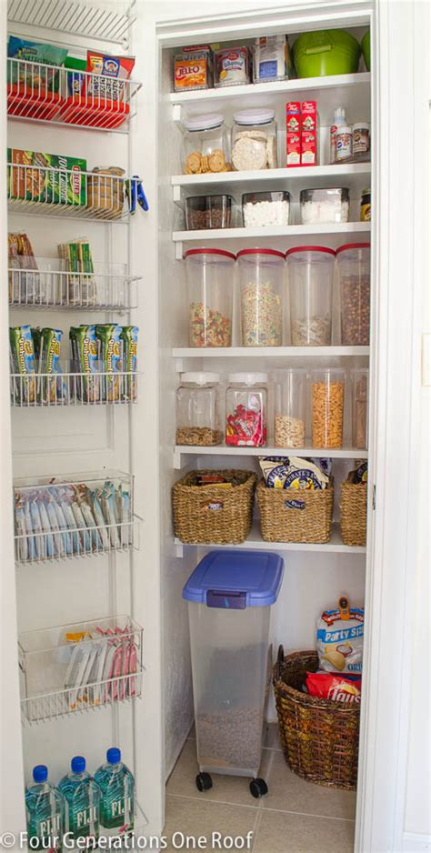 our organized kitchen pantry closet reveal pantry