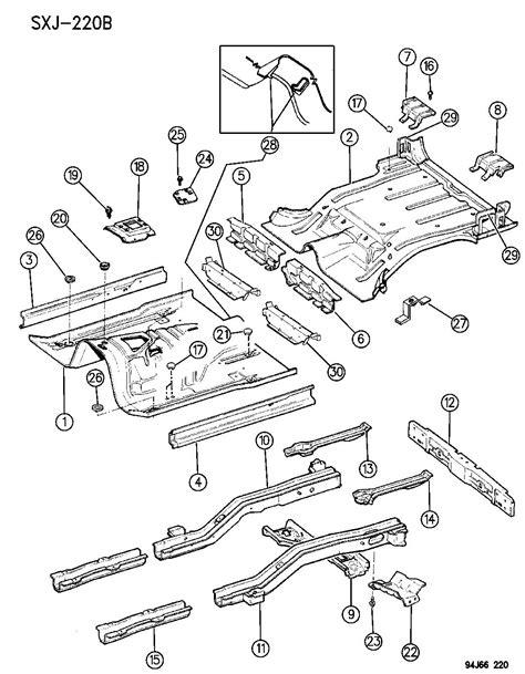 1994 Jeep Floor Pans by Pans Floor Xj