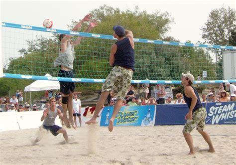 beach volleyball stock photo freeimagescom