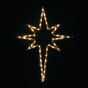 shop holiday lighting specialists 2 5 ft small star of bethlehem outdoor christmas decoration
