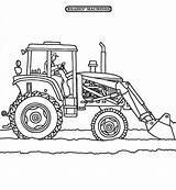Tractor Coloring Snow Plow Plowing Sheets Tractors Printable Chick Hicks Clipart Drawing Truck Bottom Kleurplaten Deere Farm Snowplow Six Momjunction sketch template