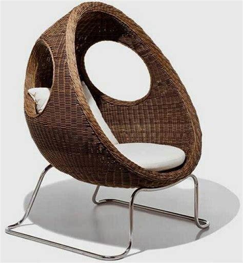 sofa huevo terraza mimbre y rattan para los muebles de jard 237 n 100 ideas