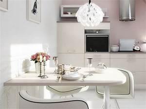 Cuisine Rose Poudré : petite cuisine rose poudr cuisine plus cuisine kitchen pinterest deco petite cuisine ~ Melissatoandfro.com Idées de Décoration