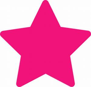 Pink Star   Free Images at Clker.com - vector clip art ...