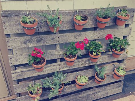 garden made pallet herb garden is the solution for limited space