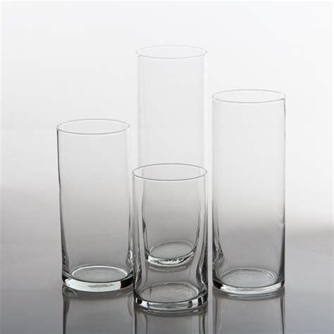 Cylinder Vases by Eastland Glass Cylinder Vases Set Of 48 Import It All
