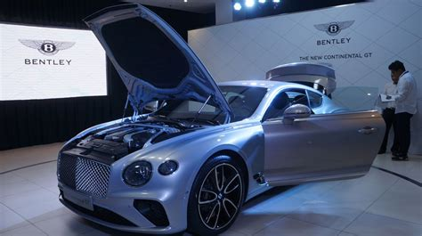 bentley launches  generation continental gt