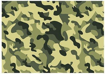 camouflage edible  icing sheets  shipping cake board