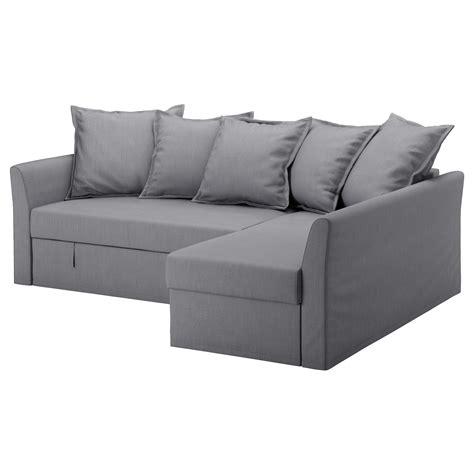 Holmsund Corner Sofabed Nordvalla Medium Grey Ikea
