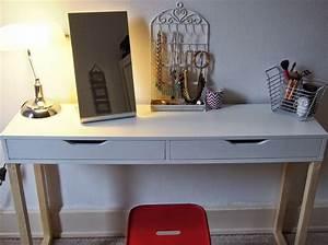 Coiffeuse Meuble Ikea : beauty and rose diy une coiffeuse unique projets pinterest coiffeur chambres et rangement ~ Teatrodelosmanantiales.com Idées de Décoration