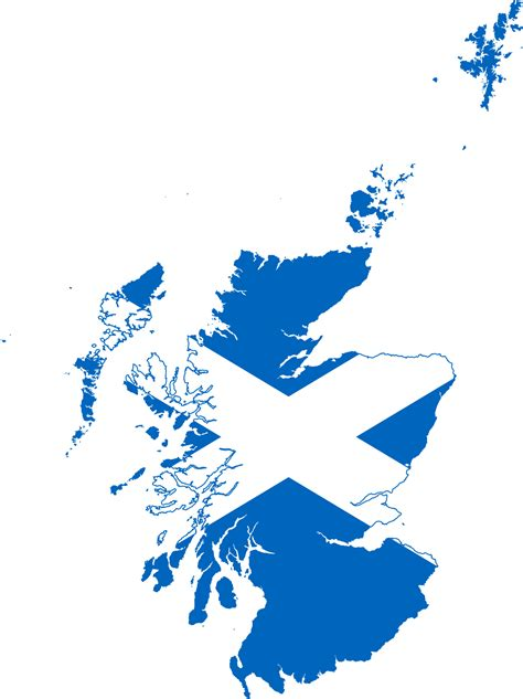 File:Flag map of Scotland.svg - Wikimedia Commons