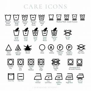 Custom Care Label Stamp For Washing Instructions With