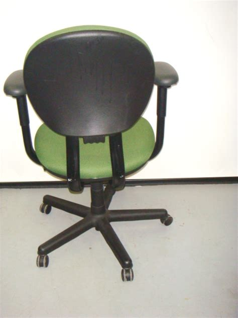 backwards l shaped desk steelcase criterion mid back used office furniture