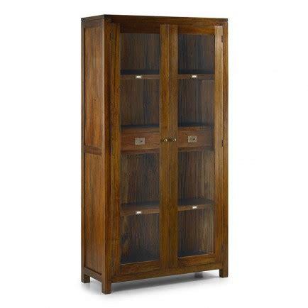 fabricant de meuble de cuisine vitrine en bois exotique mobilier colonial en acajou massif