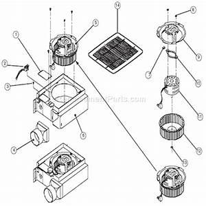 Broan 683 Parts List And Diagram   Ereplacementparts Com