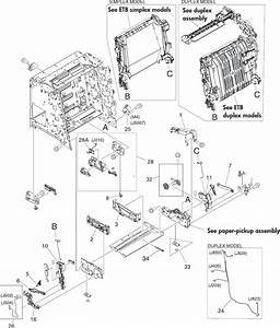 Hp Color Laserjet 3000  3600  3800   Cp3505 Series Printer Service Manual