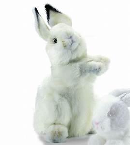 Lapin En Peluche : peluche lapin dresse blanc 32cm chez doudou ~ Teatrodelosmanantiales.com Idées de Décoration