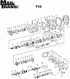 T10 Case  Fork  U0026 Gear