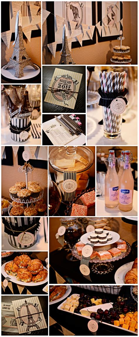 Paris Themed Bunco Party  Jenallyson  The Project Girl