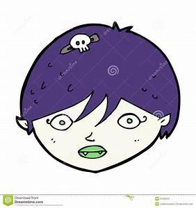 Cartoon Vampire Face Royalty Free Stock Photography ...