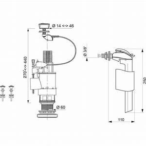 Mécanisme De Chasse D Eau : m canisme de chasse d 39 eau complet wc altech duo livr pos ~ Premium-room.com Idées de Décoration