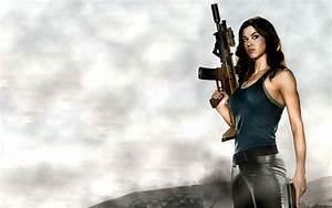 Gun Babe Wallpaper - WallpaperSafari