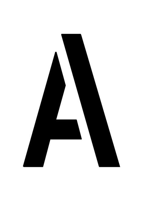Buchstaben din a 4 zum ausdrucken : 6. Buchstabenschablonen