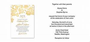 wedding invitation wording sample verses by wedding paper With wedding invitation wording joining two families