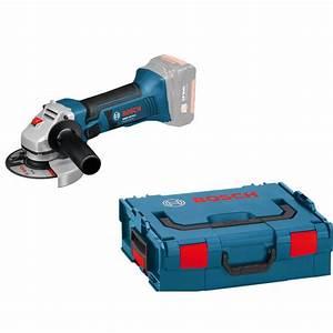Meuleuse Bosch Sans Fil : meuleuse angulaire 125 mm sans fil gws 18 125 v li solo ~ Melissatoandfro.com Idées de Décoration