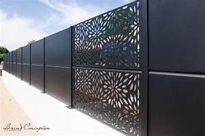 Panneau Brise Vue Aluminium : panneau metal cloture cloture pour chevaux chromeleon ~ Melissatoandfro.com Idées de Décoration