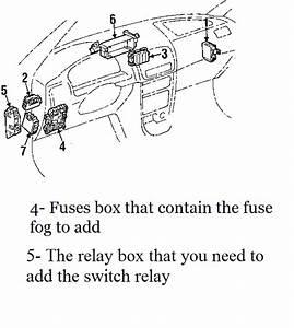 How To Add Toyota Corolla 2001 Fog Lights  U0026 Swith