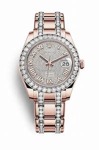 Rolex Pearlmaster 39 Watch: 18 ct Everose gold