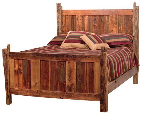 teton barnwood bed rustic furniture mall timber creek
