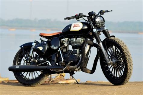 Royal Enfield Classic 500 Modification by This Modified Royal Enfield Classic 500 By Singh Customs