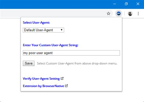 user agent extension chrome switcher