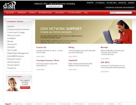 dish network customer service review
