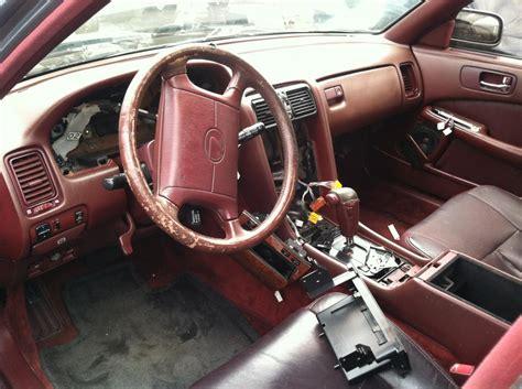 lexus ls400 interior junkyard find 90 ls 400 with rare color interior