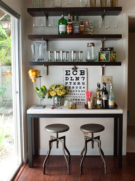 console table bar design ideas